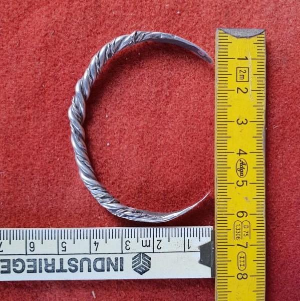 Wikinger Armreif aus Silber, Modell 3