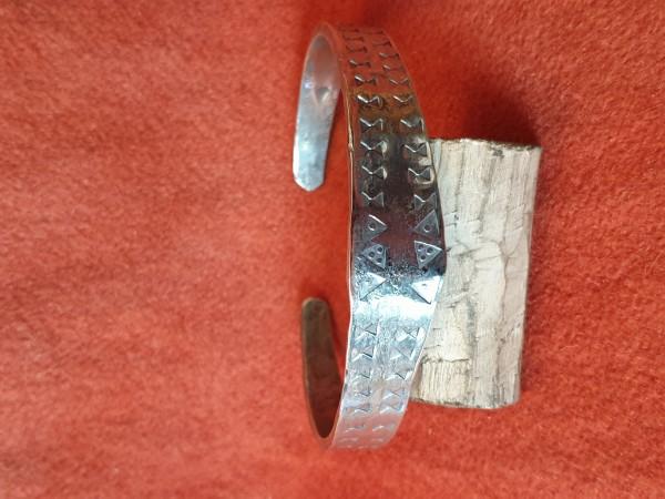 Wikinger - Armreif, Silber, punziert
